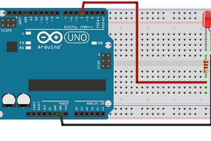 Menyalakan sebuah LED dengan Arduino #3