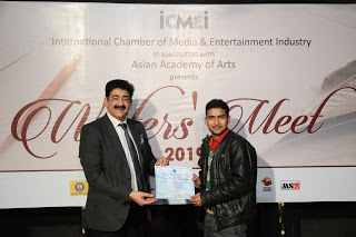 My First Interaction With Mr. Sandeep Marwah Ji In Marwah Studio | Saransh Sagar ( सारांश सागर )