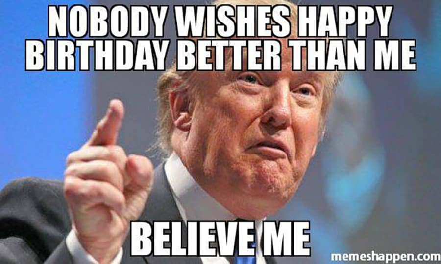 20 Funny Happy Birthday Memes For Men Special Birthday Wishes