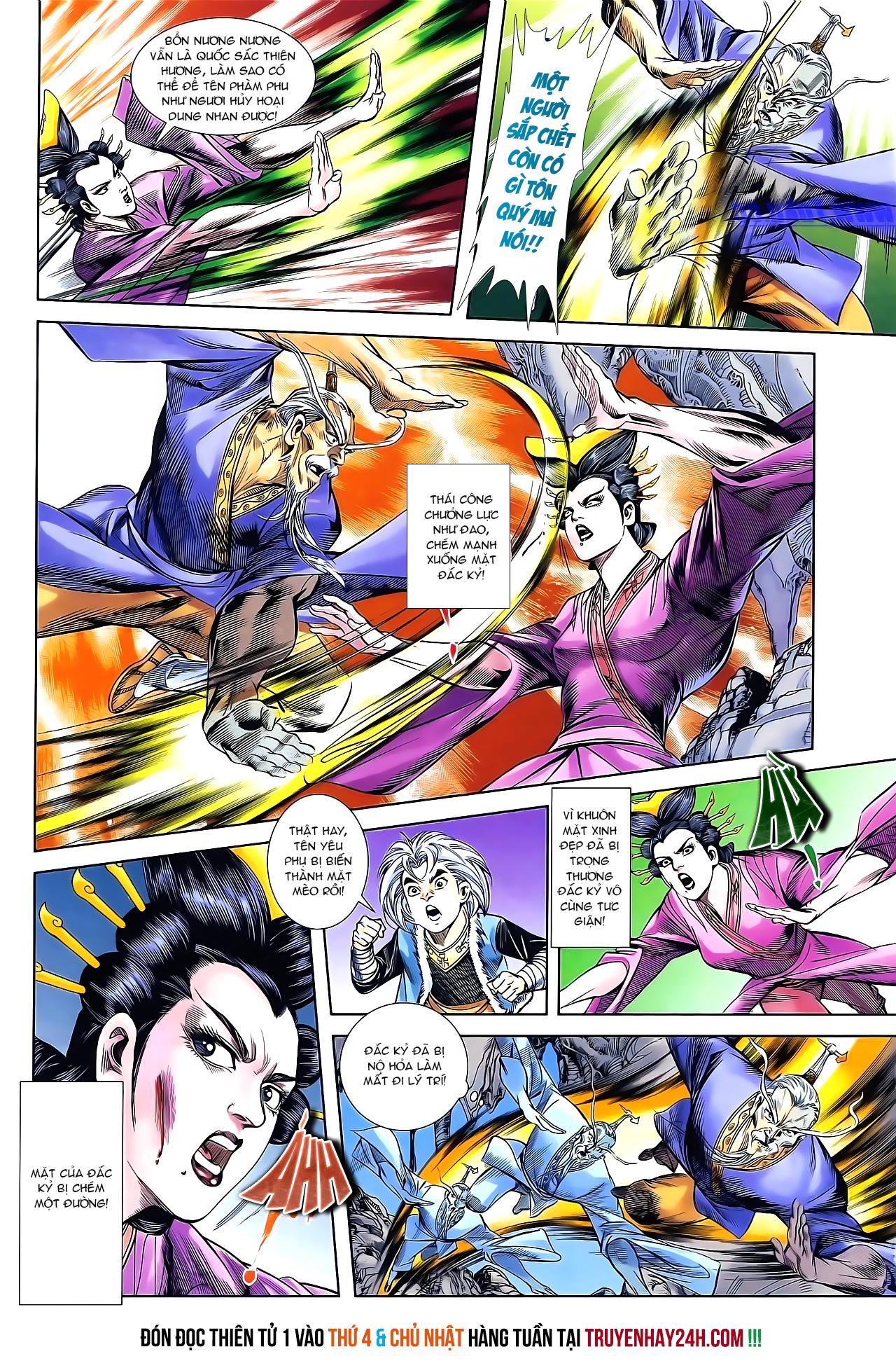 Cơ Phát Khai Chu Bản chapter 162 trang 28