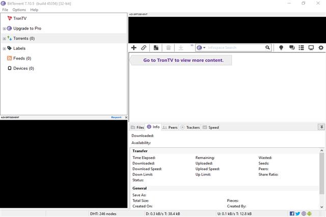 تنزيل برنامج BitTorrent لمشاركة وتحميل الملفات المختلفة عبر الإنترنت