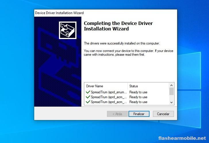 Cómo instalar drivers Spreadtrum para Windows