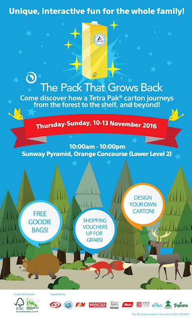 Tetra Pak® Packages @Sunway Pyramid, Orange Concourse