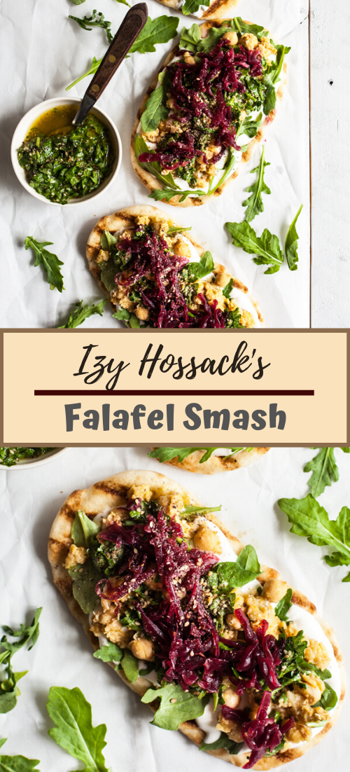 Izy Hossack's Falafel Smash #vegan #vegetarian #soup #breakfast #lunch