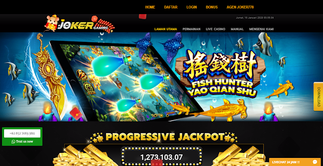 Agen Judi Slot Game Deposit Bank 24 Jam