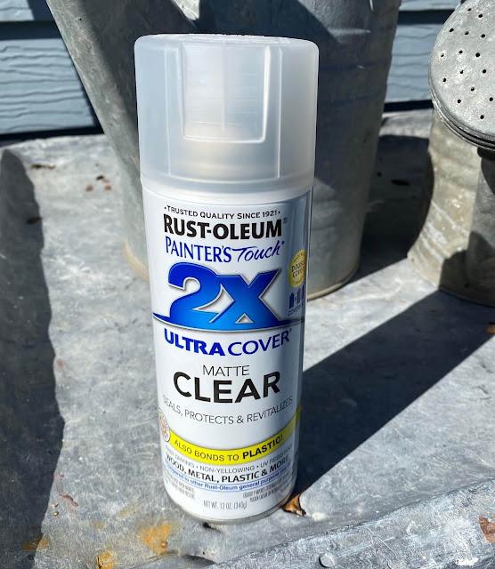 Photo of a satin spray sealer.