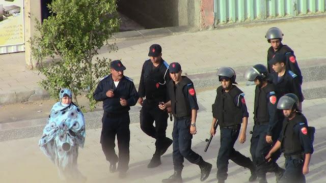Resultado de imagen de manifestacion en el Aaiún ocupado