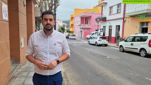 El Cabildo repavimentará la carretera LP-202 entre El Galeón y la Montaña de La Breña