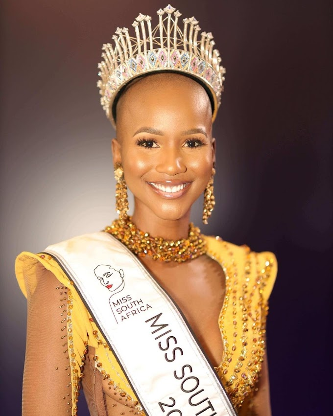 Shudufhadzo Musida Wins The 62nd Edition Of The Miss South Africa Pageant.