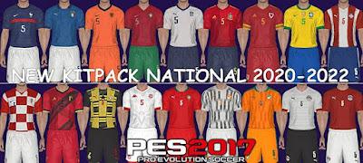 National Teams 2020/2021 Kitpack V2 AIO PES 2017