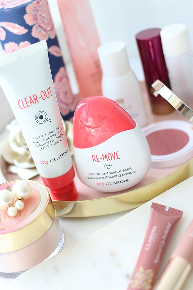 My Clarins Clear-Out & Re-Move