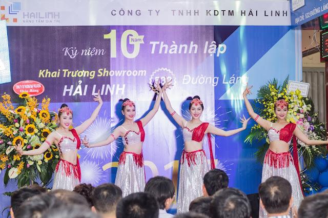 Khai trương showroom Hải Linh