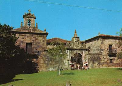 postal, Liérganes, palacio Rañada