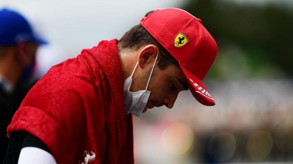 Leclerc não conseguiu explicar o que deu errado para a Ferrari após a corrida