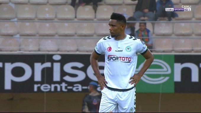 Turquie : Samuel Eto'o ouvre son compteur but avec Konyaspor