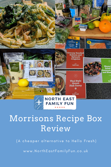 Morrisons Recipe Box Review (A cheaper alternative to Hello Fresh)