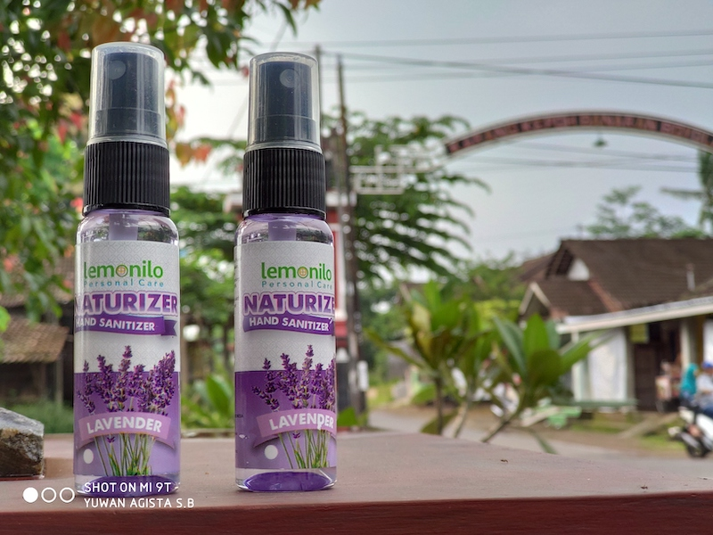 Review Naturizer Hand Sanitizer Lemonilo Lavender
