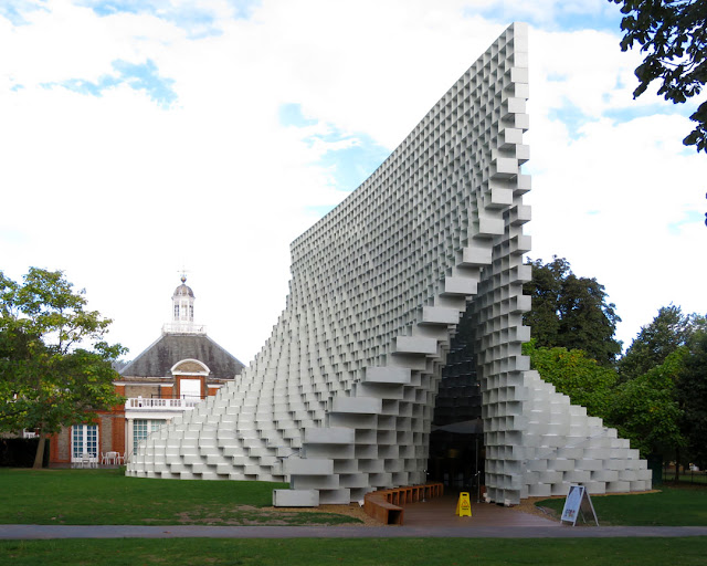 Serpentine Pavilion by Bjarke Ingels Group (BIG), Kensington Gardens, London