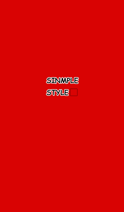 Simple Red Simple