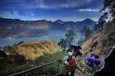 Prosedur Dalam Mendaki Gunung Rinjani
