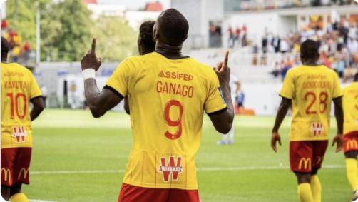 Ligue 1: Découvrez le but de l'attaquant camerounais Ignatius Ganago face à Saint-Etienne