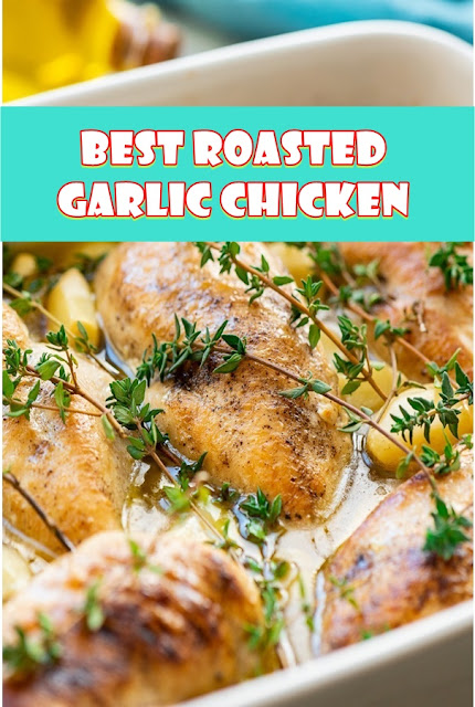 #Roasted #Garlic #Chicken