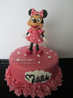 A Minnie no batismo da Matilde
