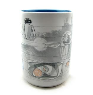 EVE Art of Pixar Mug