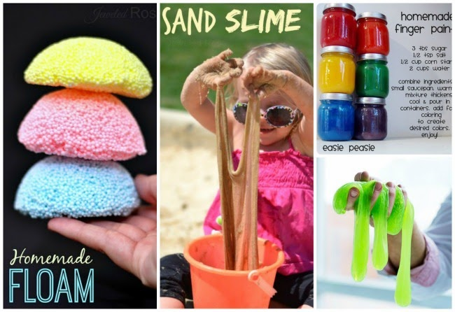 Amazing play recipes for kids from Pinterest