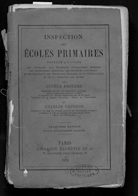 Instructions pour l'inspection des maîtres (collection privée)
