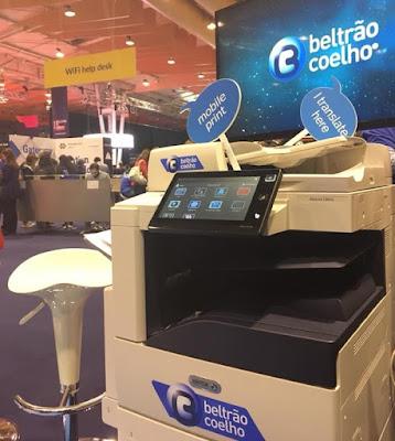 Beltrão Coelho e Xerox com impressões gratuitas na Web Summit