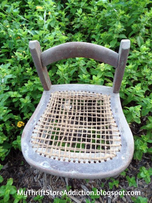 Vintage kiddie chair