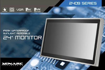 "The Best Rugged Touchscreen Solutions for Cleaning and Sanitizing in Food Processing and Beverage Plants -24"" LCD Monitor #IP69K   Perfect for: * Food Processing Factories * Beverage production Facilities * Pharmaceutical manufacturing * Chemical Factories * Meets The FDA Food Safety Modernization Act (FSMA) Requirements  Rugged 2409 Series https://xenarc.com/2409CNH.html"
