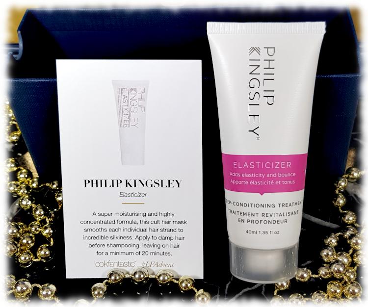 Philip Kingsley Elasticizer hair mask tube & description card