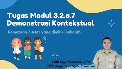 Tugas Modul 3.2.a.7 Demonstrasi Kontekstual - Pemetaan 7 Aset yang Dimiliki Sekolah