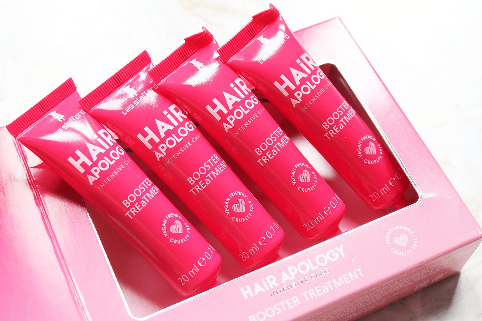Lee Stafford Hair Apology Booster Treatment Review