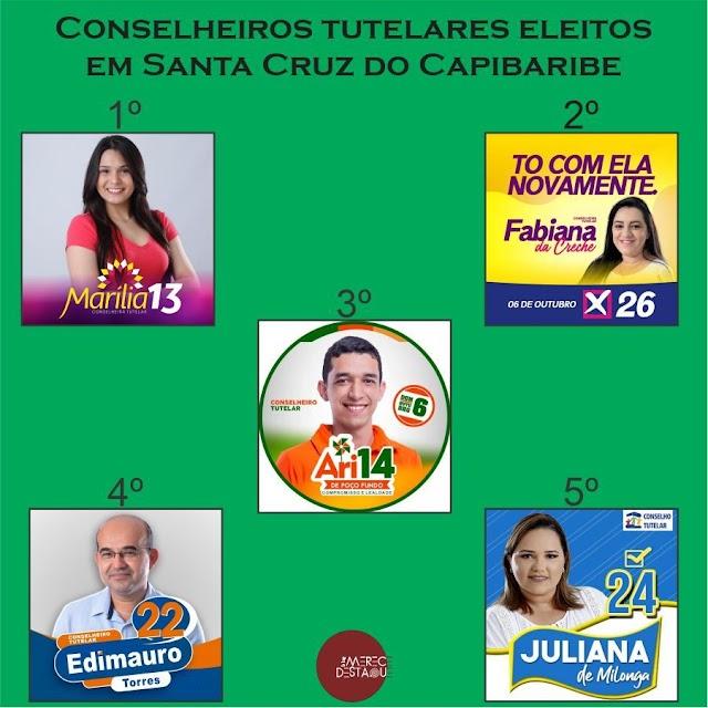 Confira a lista dos conselheiros tutelares eleitos em Santa Cruz do Capibaribe