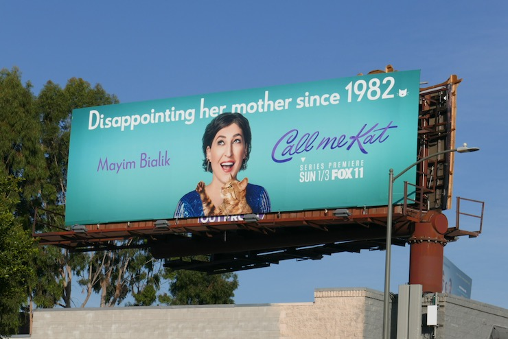 Call Me Kat series premiere billboard