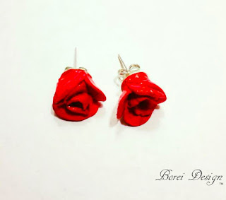 how-to-make-clay-rose-earrings-diy-crafts-jewelry-tutorial-video