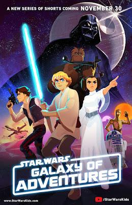 """TV Series: Nuevo corto animado de """"Star Wars: Galaxy of Adventures"""""""