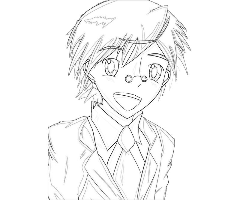 negima anime coloring pages - photo#37