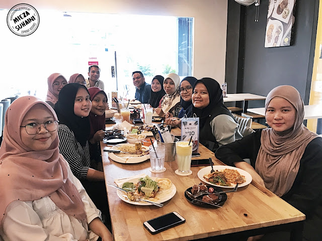 Sambut Birthday di Mios Kitchen Shah Alam