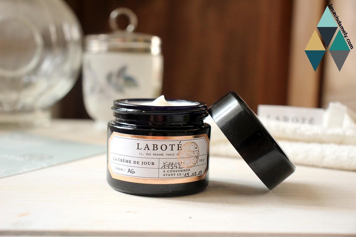 revue beauté crème hydratante sur mesure matifiante Laboté