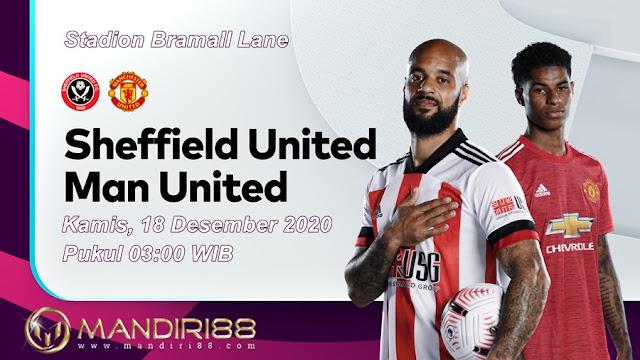 Prediksi Sheffield United Vs Manchester United, Kamis 18 Desember 2020 Pukul 03.00 WIB @ Mola TV