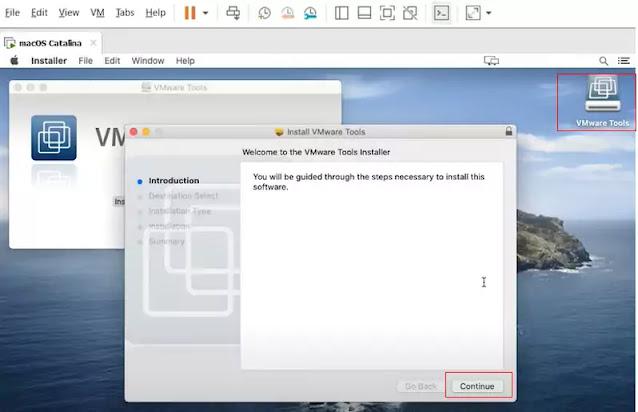 VMware tools Installer