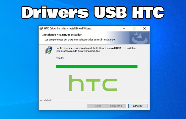 Instalar drivers USB HTC en Windows paso a paso