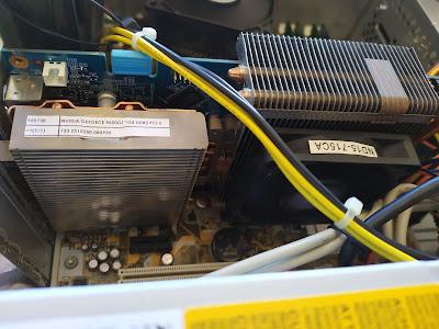 Mantenimiento y mayor refrigeración a una gráfica Nvidia GeForce 9600GT 1 Gb DDR3