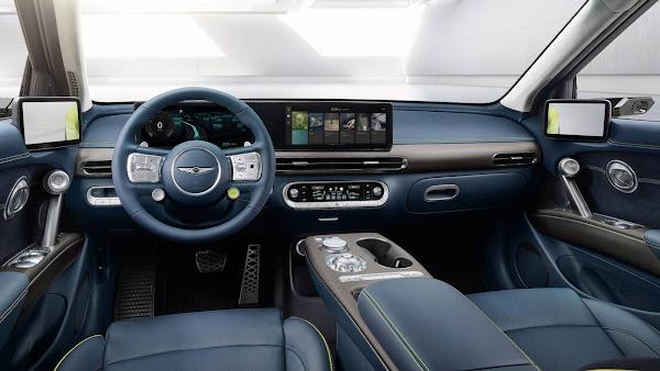 Genesis apresenta seu crossover elétrico premium GV60