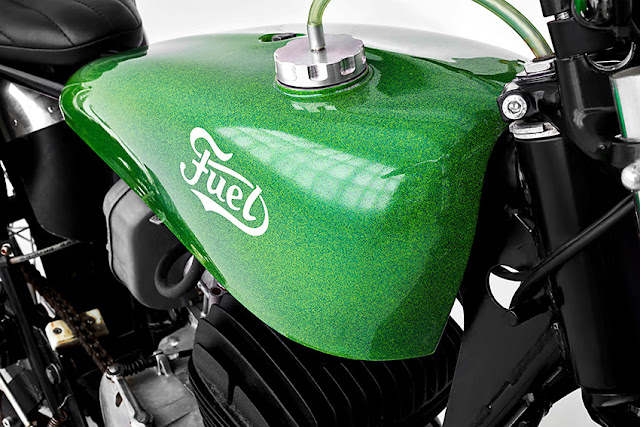Ossa Pioneer 250 By Fuel Motorcycles Hell Kustom