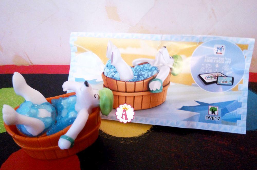 Полярный медведь плюется в ванне Kinder Maxi DVB17